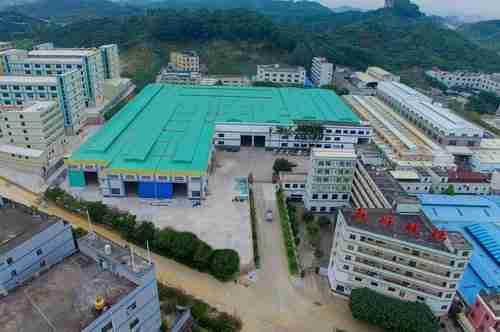 shenzhen Drachenglasfabrik in Dongguan
