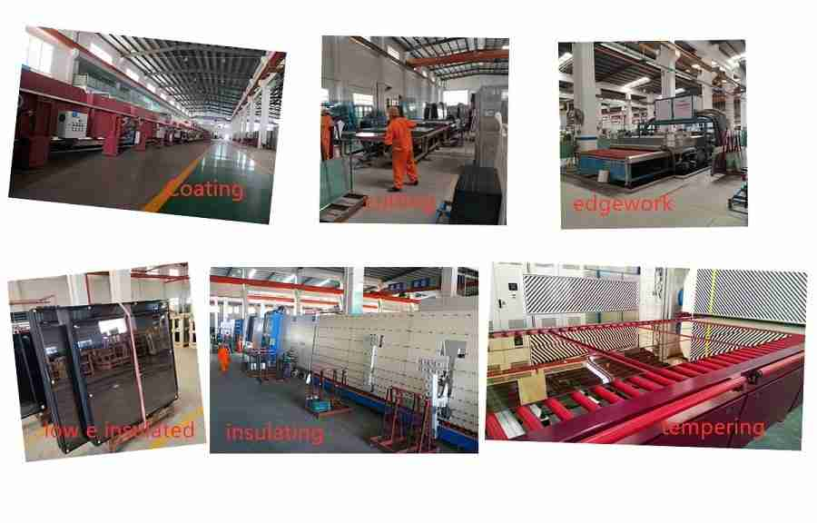 Shenzhen Dragon Glass lav e isolert glass prosess