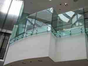 12mm thick toughened glass system