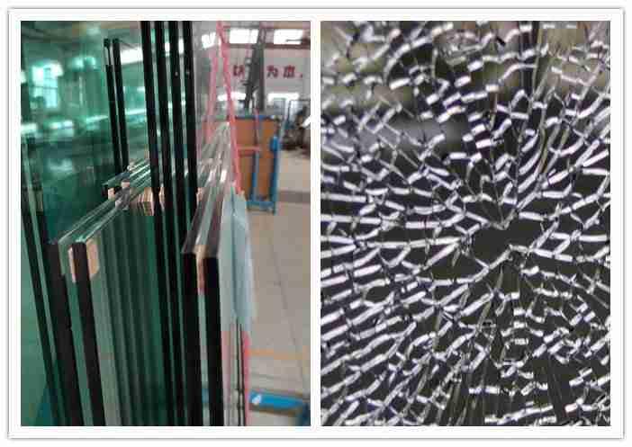 12mm سميكة تشديد نظام السور الزجاج