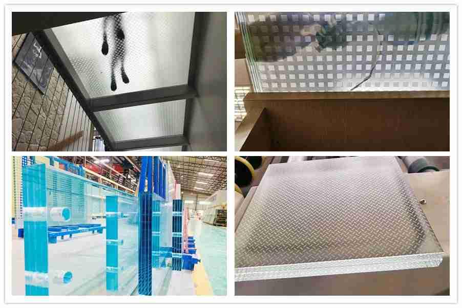 Productos de piso de vidrio laminado Shenzhen Dragon Glass