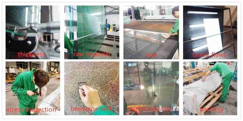 igu glazing glass process testing