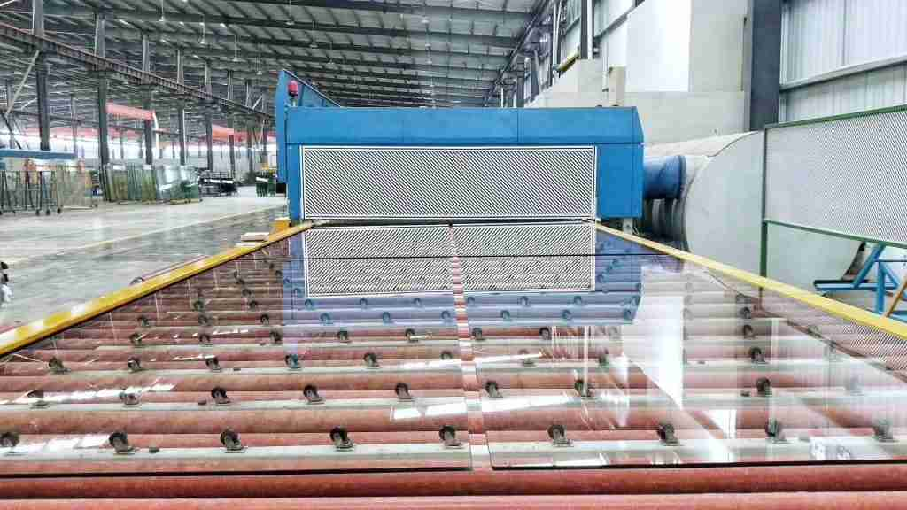 tempered glass line
