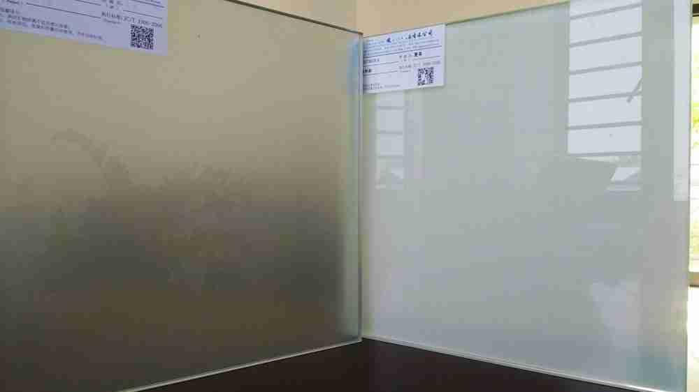puertas de ducha de cristal de frita de cerámica