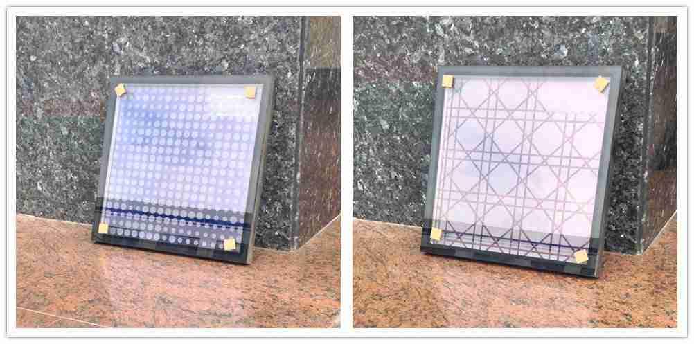 Keramisk fritglass med lavt e-belegg og isolerte glasskonfigurasjoner