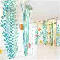 digital printing glass wall