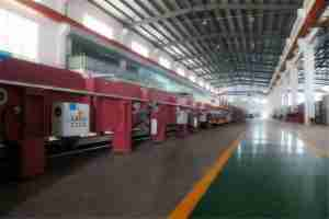 low e glass coating line