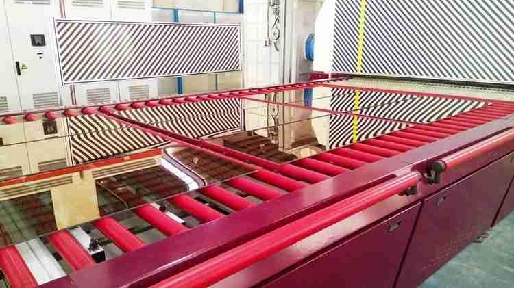 Offline Low-E Glastemperiermaschine