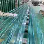 super flat laminated glass