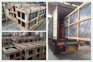 Strong plywood crates packing details