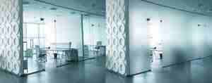 smart glass partition wall