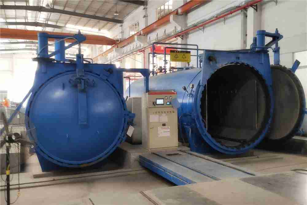High pressure glass lamination autoclave