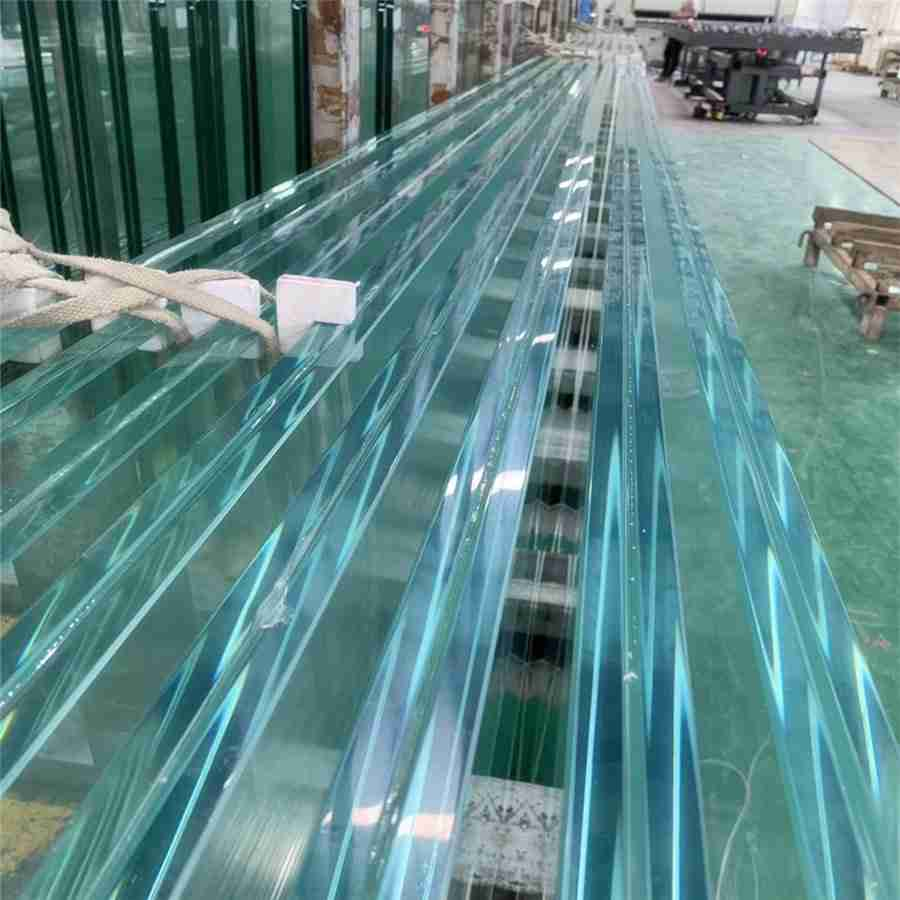 China super strong 12mm+2.28PVB+12mm laminated glass elevator manufacturer 4 glass elevator