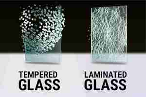 laminated glass versus tempered glass breakage