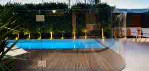 12mm tempered glass pool fencing