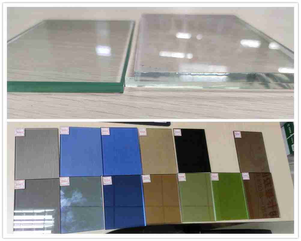 Clear glass VS low iron glass VS tinted glass
