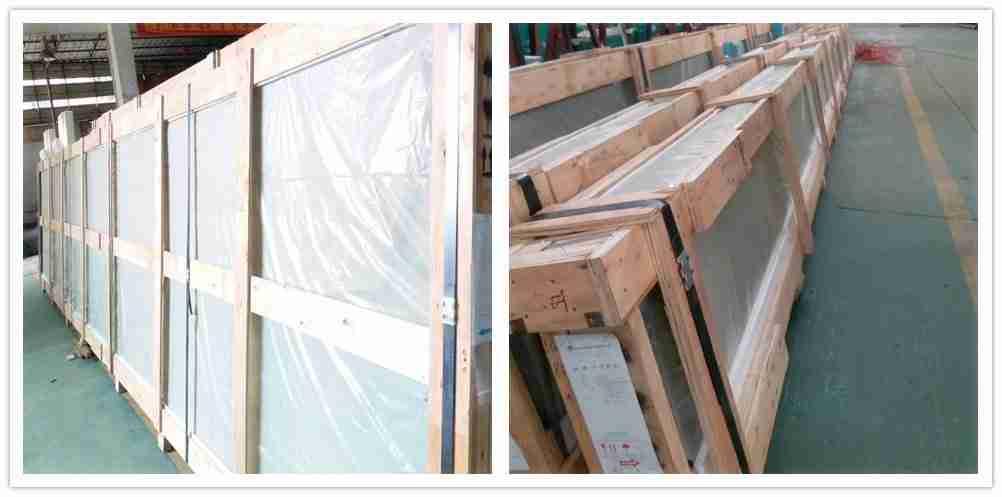 Sterk pakking for glasslevering sikkerhet av Shenzhen Dragon Glass.