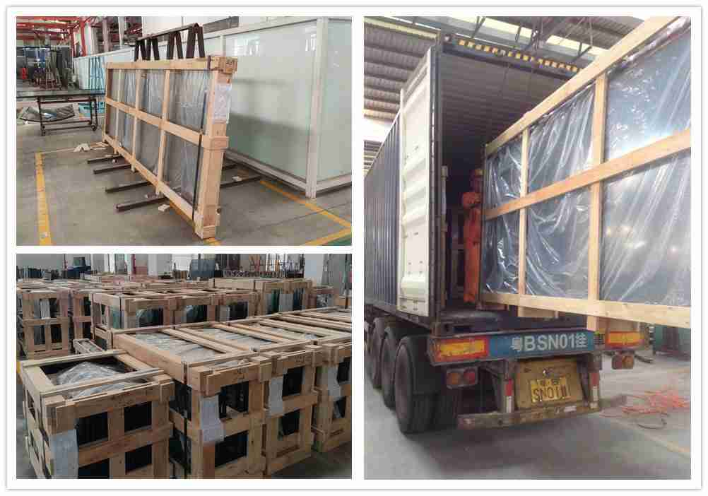 Strong plywood crates packing
