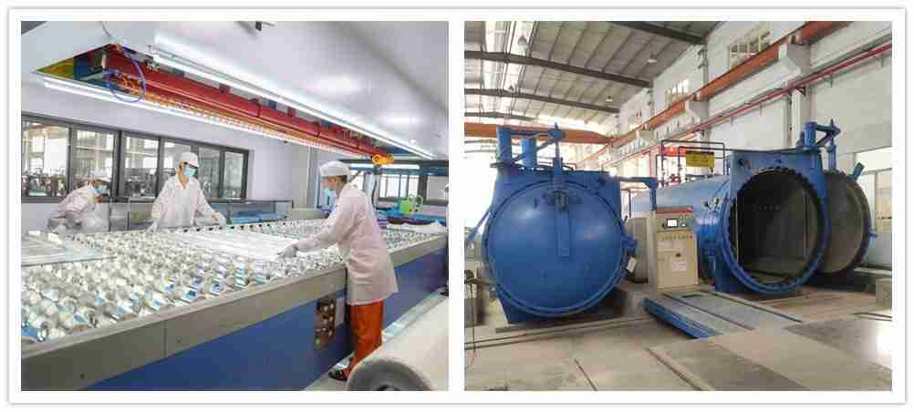 dust free lamination room and high temperature autoclave