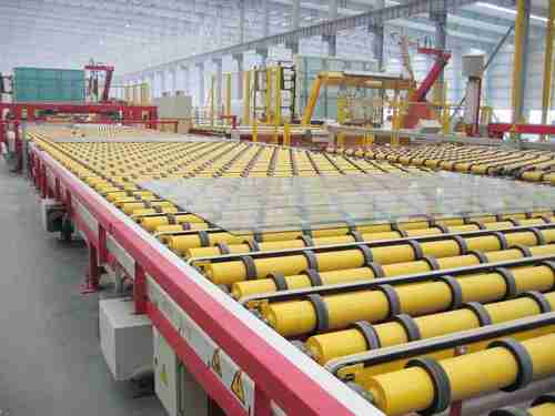 float line glass production
