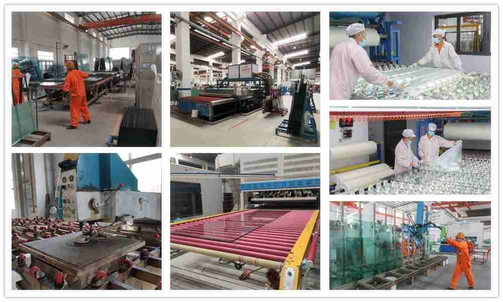 acoustic laminated glass production details