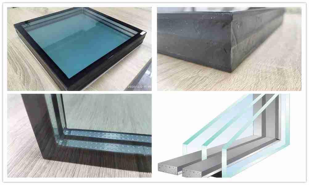 ventanas de vidrio bajo e triple acristalamiento
