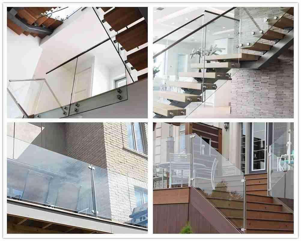 12mm toughened glass railing