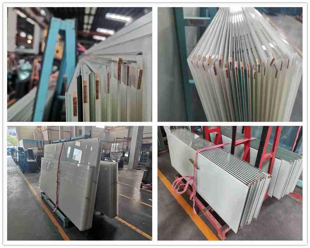 Shenzhen Dragon Glass provide super soundproofing white laminated glass door