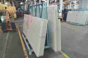Shenzhen Dragon Glass provide good quality white laminated glass door