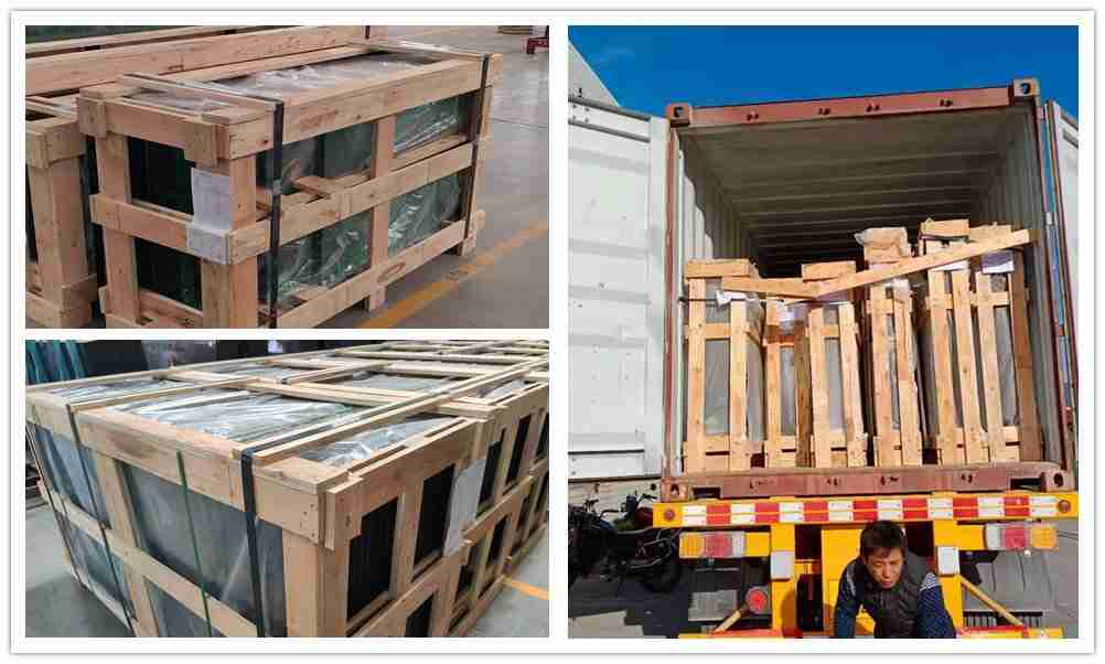 Strong plywood crates packing to ensure the safety.