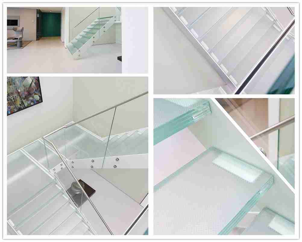 floating glass staircase cost
