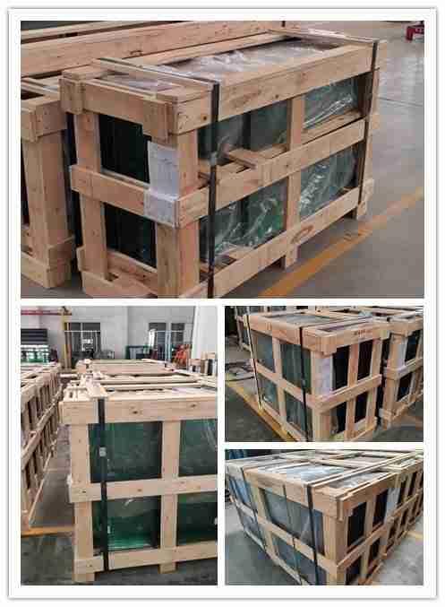 сильные фанерные ящики упаковки для бассейна ограждения стекла