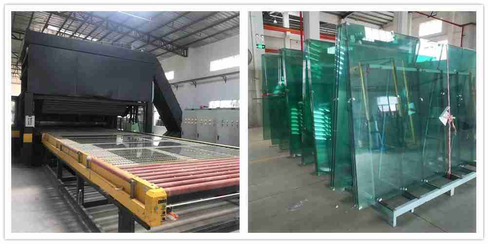 Clear tempered glass for padel glass manufacturers