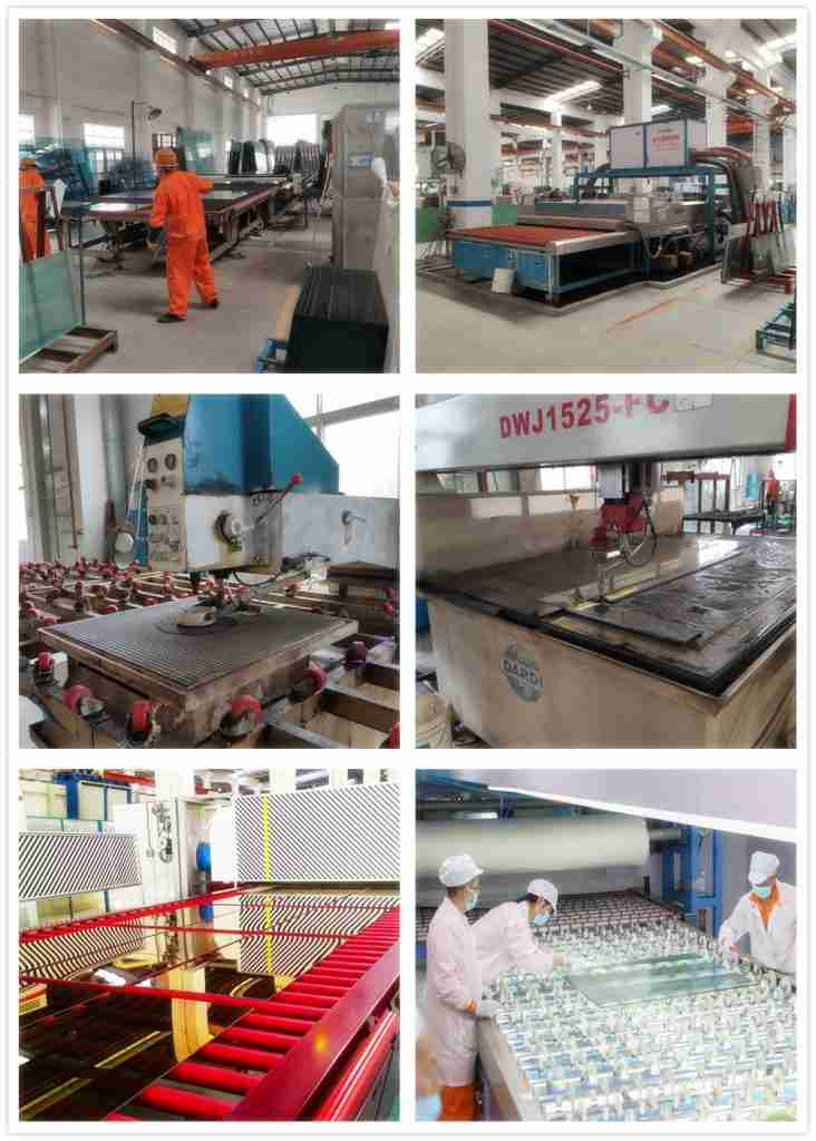 Production details for 5+5mm reflective laminated glass products.