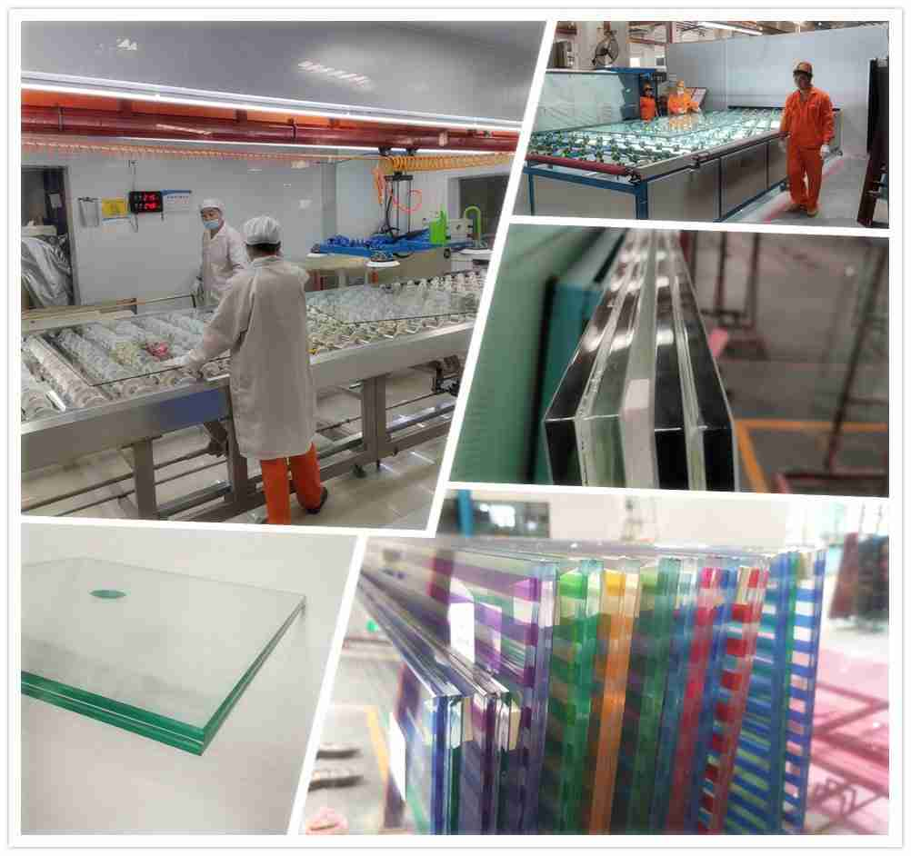 Shenzhen Dragon Glass akustisk laminert glass partisjoner.