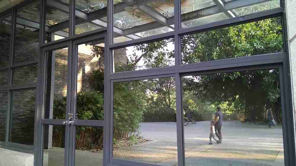 Heat reflective glass laminated glass windows cost with good privacy.