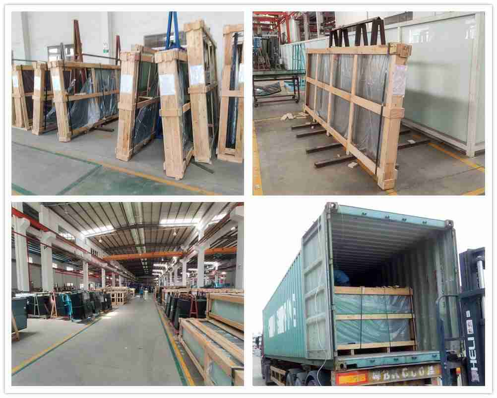 Strong packing and delivery for glass products.