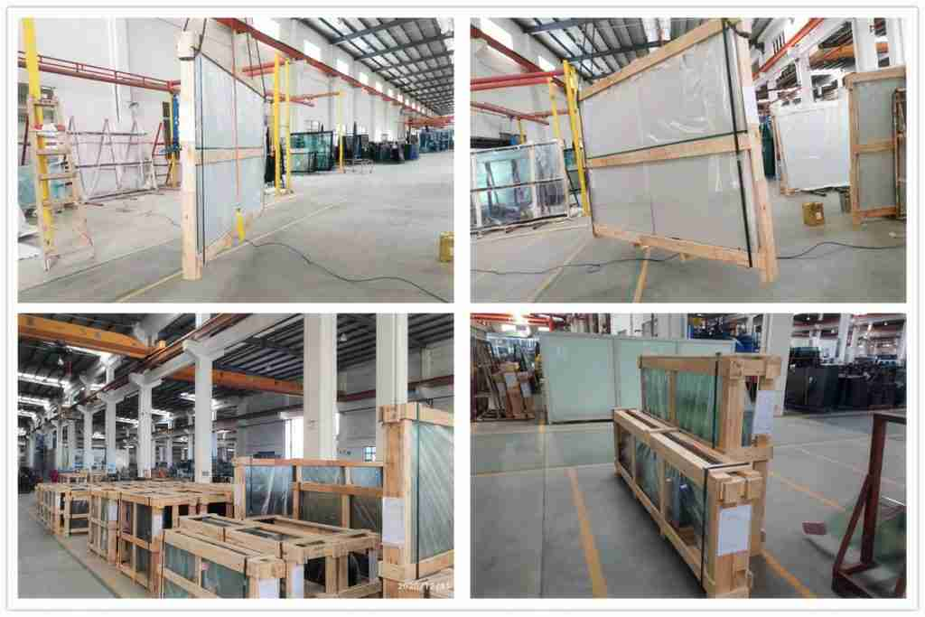 Strong plywood crates packing to ensure safety.