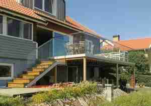 glass handrails for balcony
