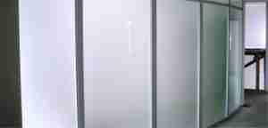 12mm tempered office frosted glass