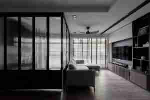 Shenzhen Dragon Glass provide super extra-stylish 8mm ribbed glass door with competitive price