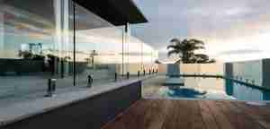 glass pool fence panels