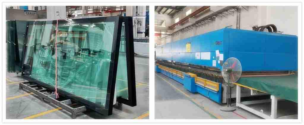 keraaminen frit lasi metrol platform lasiovi