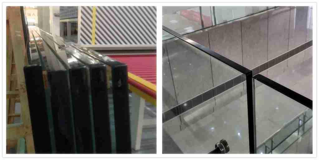 Безупречная работа края для 15 мм ясного закаленной стекла