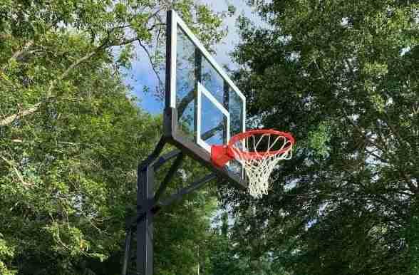 Закаленные стеклянные баскетбол backboard
