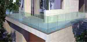 glass for railings