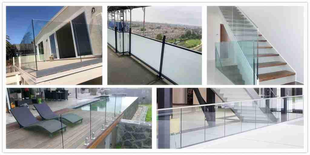 Tipo de vidro para grades