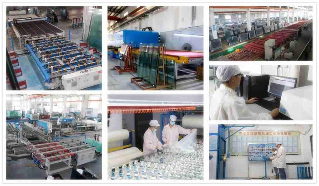 Shenzhen Dragon Glass produksjonsmaskiner og testing, etc.