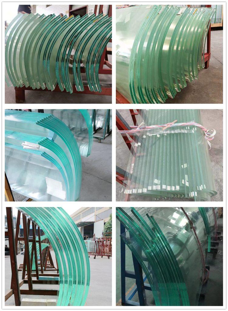 Shenzhen Dragon Glass tarjoaa erittäin vahvan taivutettu laminoitu lasi lasin nostoon.