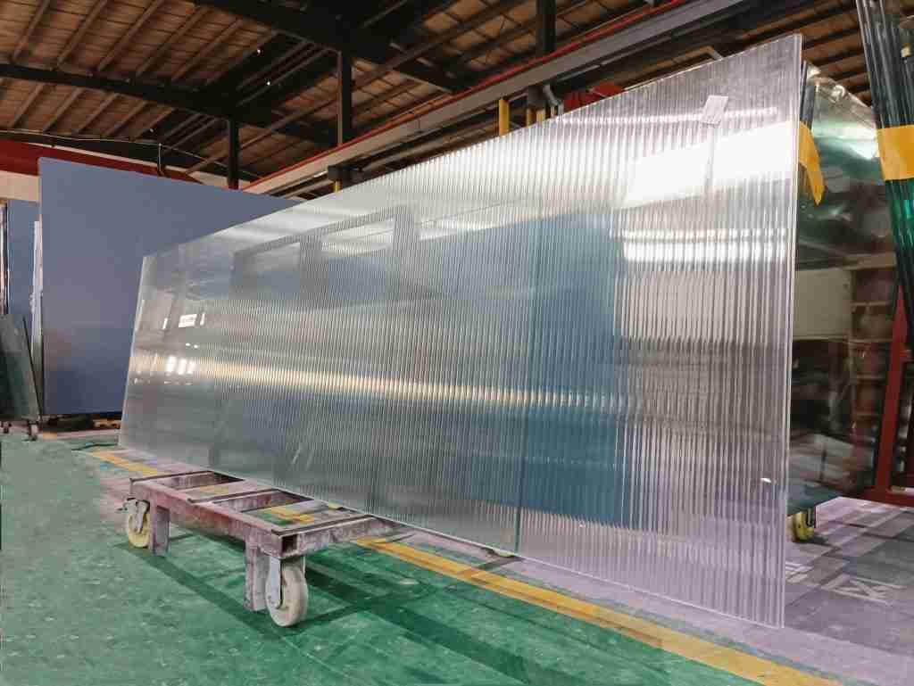 Shenzhen Dragon Glass reeded glass paneler produkt
